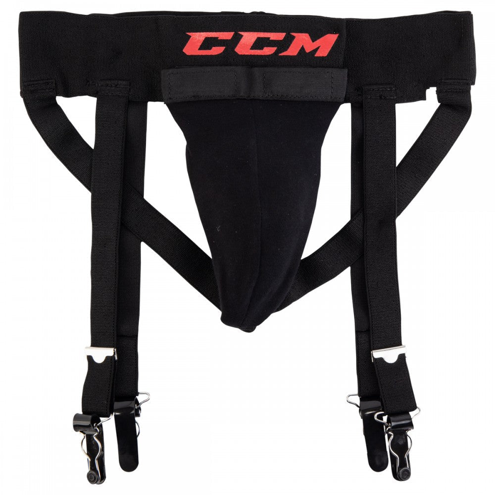 CCM 3-in-1 Jock Strap w/ Cup - HockeySupremacy.com