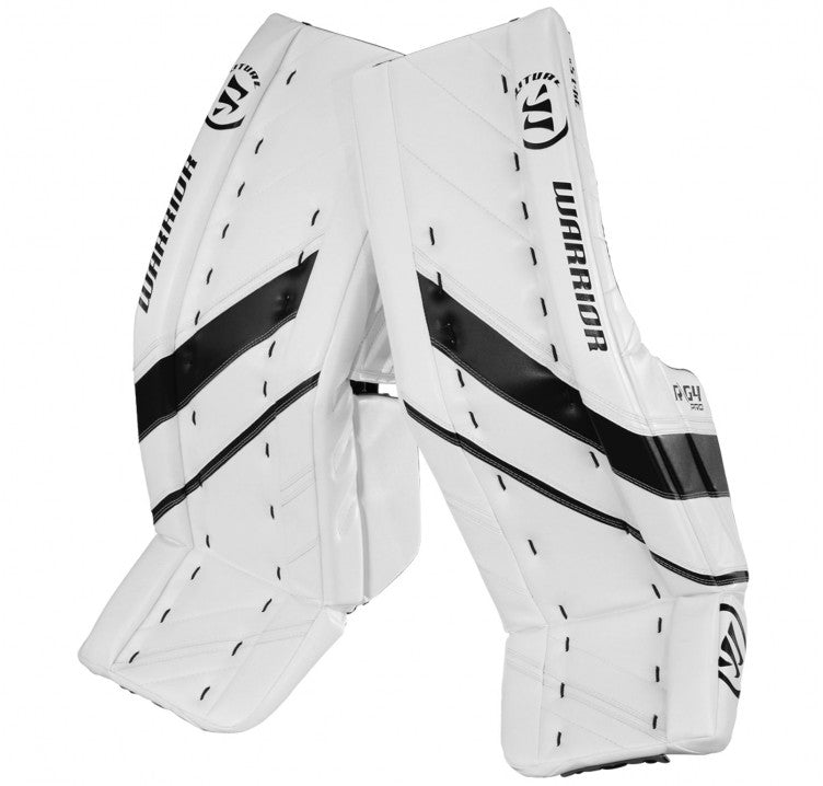 Warrior Ritual G4 Pro Senior Goalie Pads (w/ Knee Pads)
