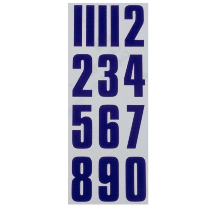 CCM Helmet Number Stickers