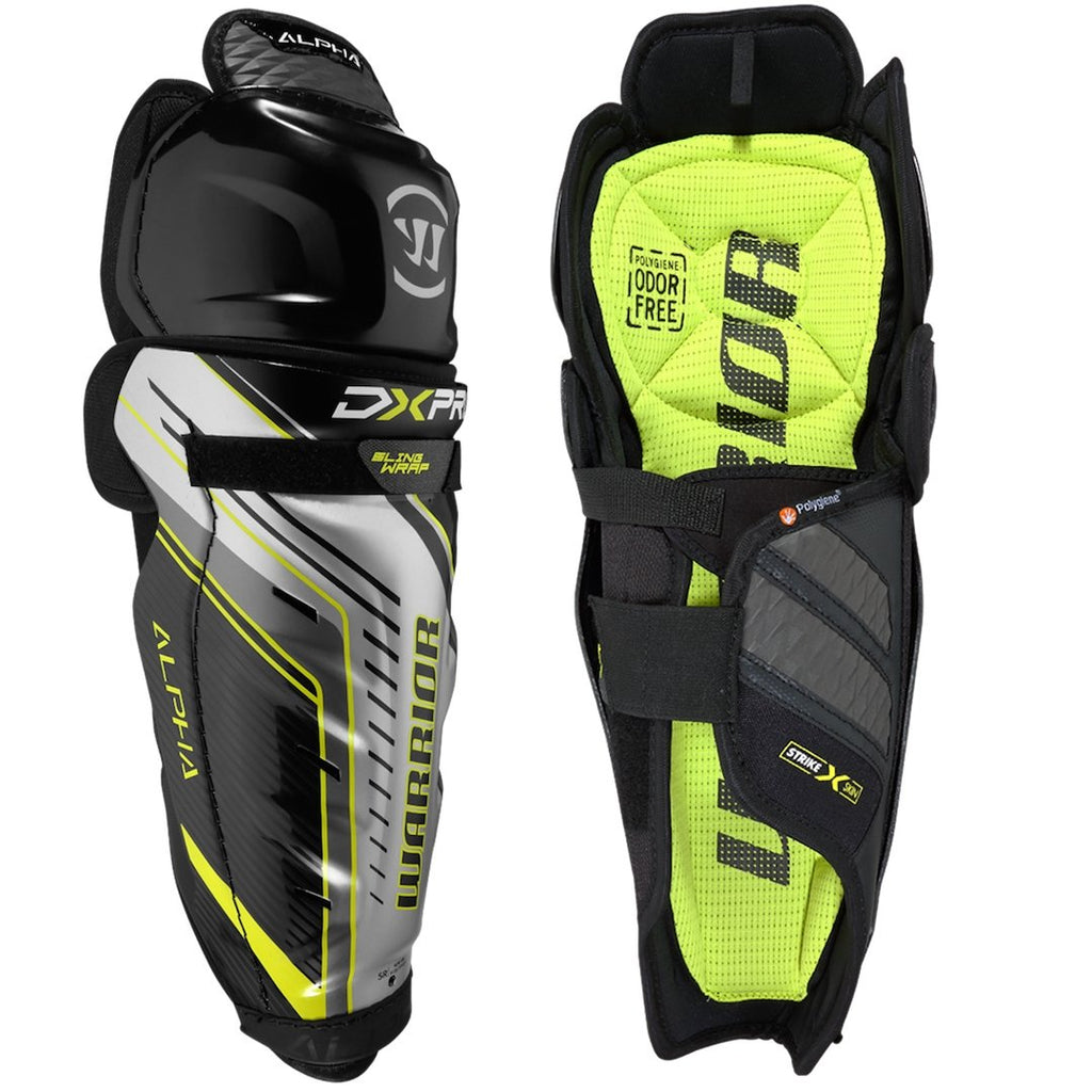 Warrior Alpha DX Pro Junior Shin Guards