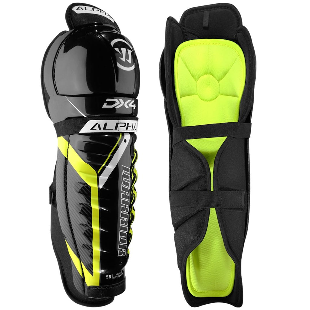 Warrior Alpha DX4 Junior Shin Guards