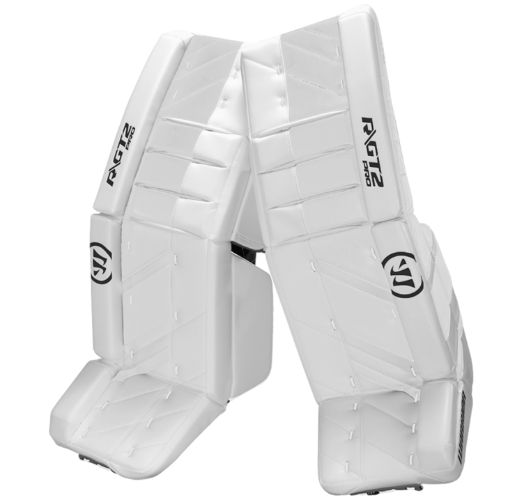 Warrior Ritual GT2 Pro Senior Goalie Pads (w/ Knee Pads)
