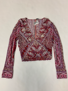 Free People Long Sleeve Top Size Large