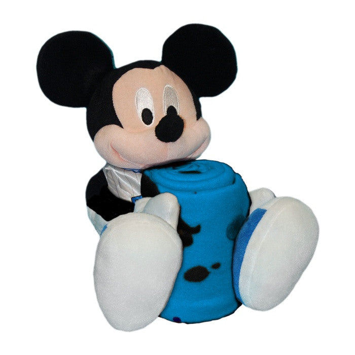Denver Nuggets NBA Mickey Mouse Hugger with Throw - Sports Fans Plus