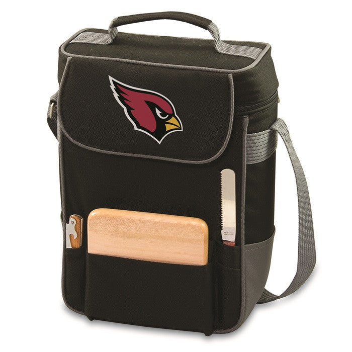 Arizona Cardinals NFL Duet Wine and Cheese Tote - Sports Fans Plus  - 2