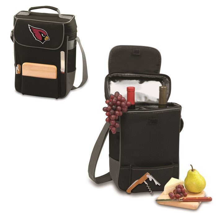 Arizona Cardinals NFL Duet Wine and Cheese Tote - Sports Fans Plus  - 1