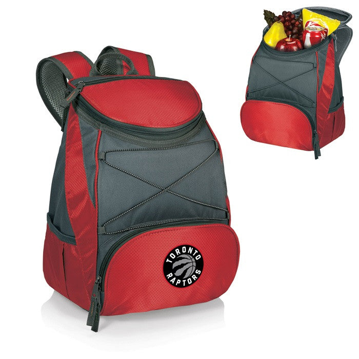 Toronto Raptors NBA PTX Red Backpack Cooler - Sports Fans Plus