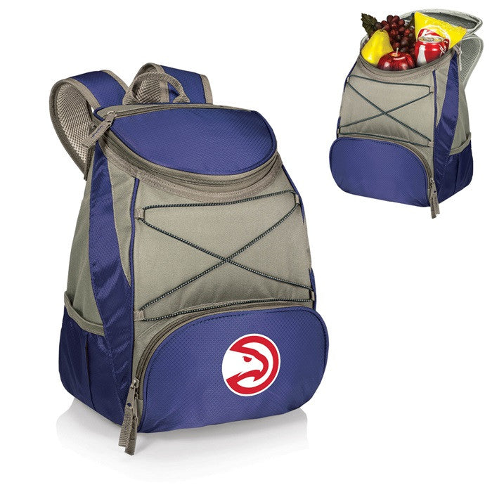 Atlanta Hawks NBA PTX Blue Backpack Cooler