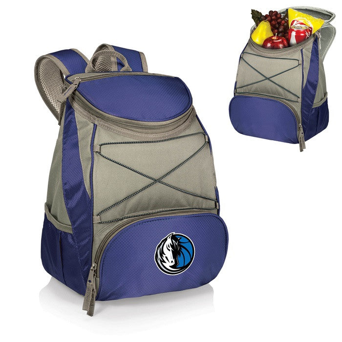 Dallas Mavericks NBA PTX Blue Backpack Cooler - Sports Fans Plus