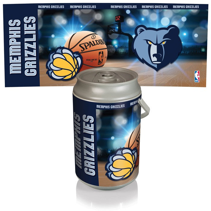 Memphis Grizzlies NBA Mega Can Cooler - Sports Fans Plus