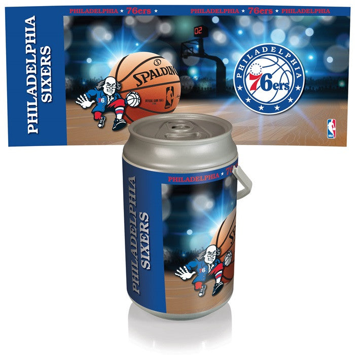 Philadelphia 76ers NBA Mega Can Cooler - Sports Fans Plus