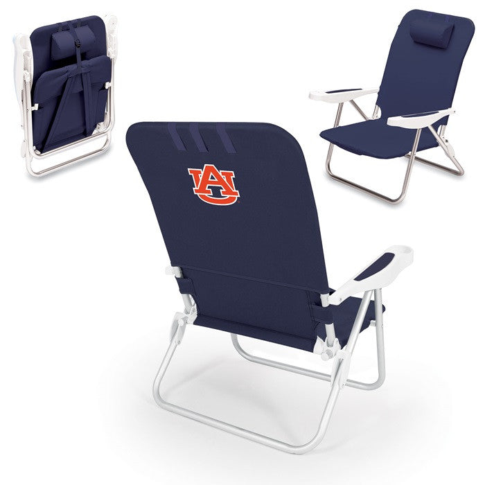 Auburn Tigers Monaco Beach Chair - Sports Fans Plus