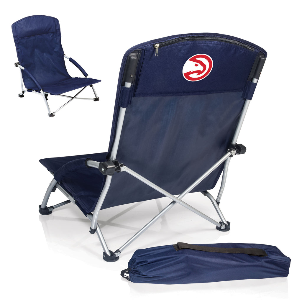 Atlanta Hawks NBA Tranquility Blue Beach Chair - Sports Fans Plus