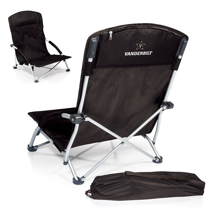 Vanderbilt Commodores Tranquility Beach Chair - Sports Fans Plus