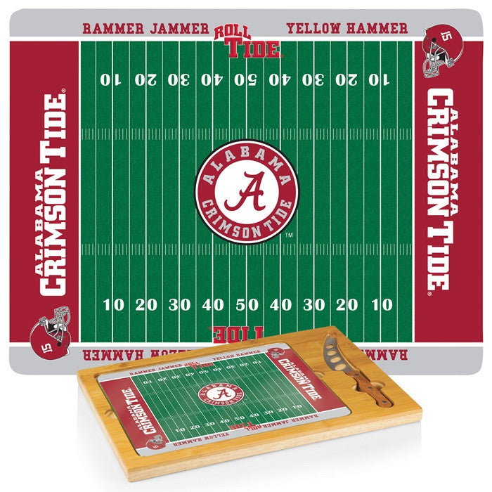 Alabama Crimson Tide Icon Cheese Board - SportsFansPlus.com