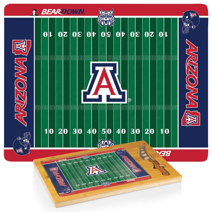 Arizona Wildcats FB Icon Cheese Board - Sports Fans Plus