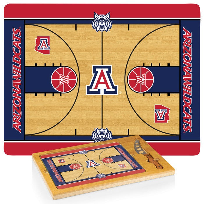 Arizona Wildcats BB Icon Cheese Board - Sports Fans Plus