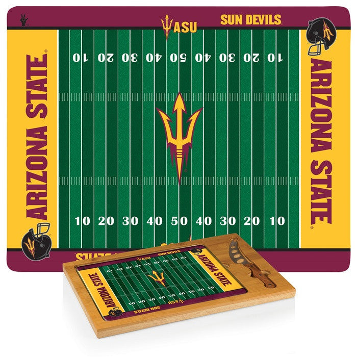 Arizona State Sun Devils Icon Cheese Board - Sports Fans Plus
