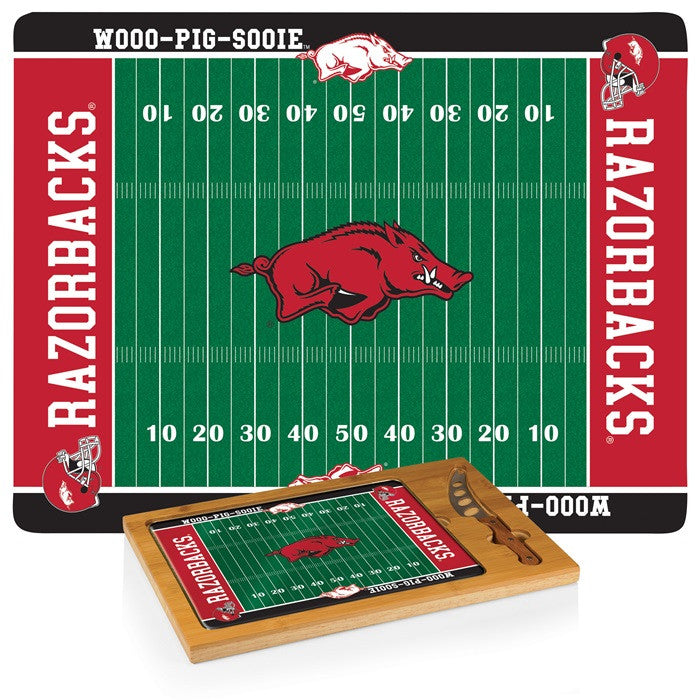 Arkansas Razorbacks Icon Cheese Board - Sports Fans Plus