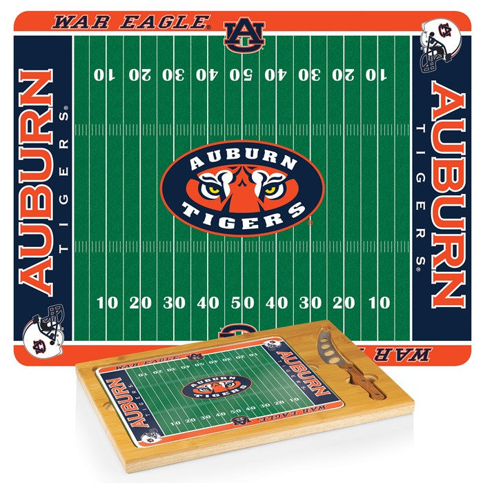 Auburn Tigers Icon Cheese Board - Sports Fans Plus