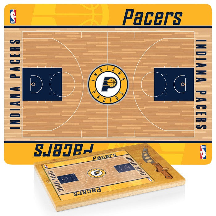Indiana Pacers NBA Icon Cheese Board - Sports Fans Plus