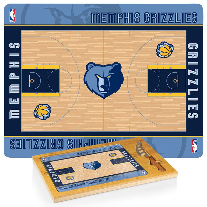 Memphis Grizzlies NBA Icon Cheese Board - Sports Fans Plus