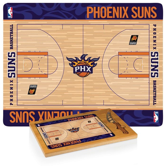 Phoenix Suns NBA Icon Cheese Board - Sports Fans Plus