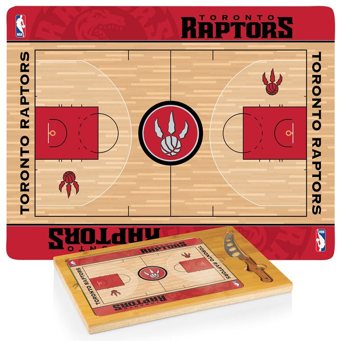 Toronto Raptors NBA Icon Cheese Board - Sports Fans Plus
