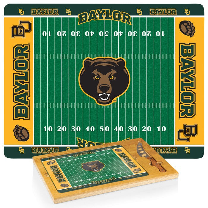 Baylor Bears Icon Cheese Board - Sports Fans Plus