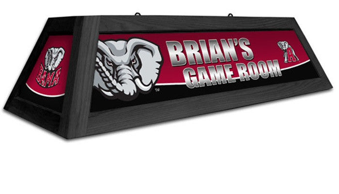 Alabama Crimson Tide Customizable Game Table Lamp - SportsFansPlus.com
