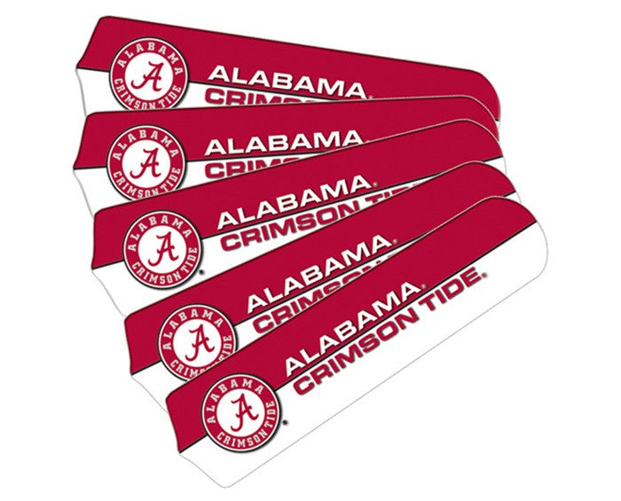 Alabama Crimson Tide 52-Inch Ceiling Fan Blade Set - SportsFansPlus.com