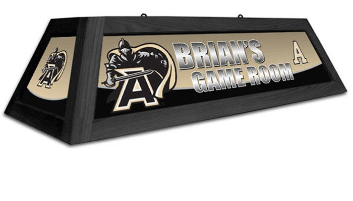 USMA Black Knights Customizable Game Table Lamp - Sports Fans Plus