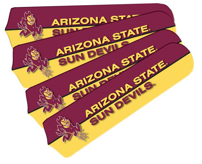 Arizona State Sun Devils 42-Inch Ceiling Fan Blade Set - Sports Fans Plus