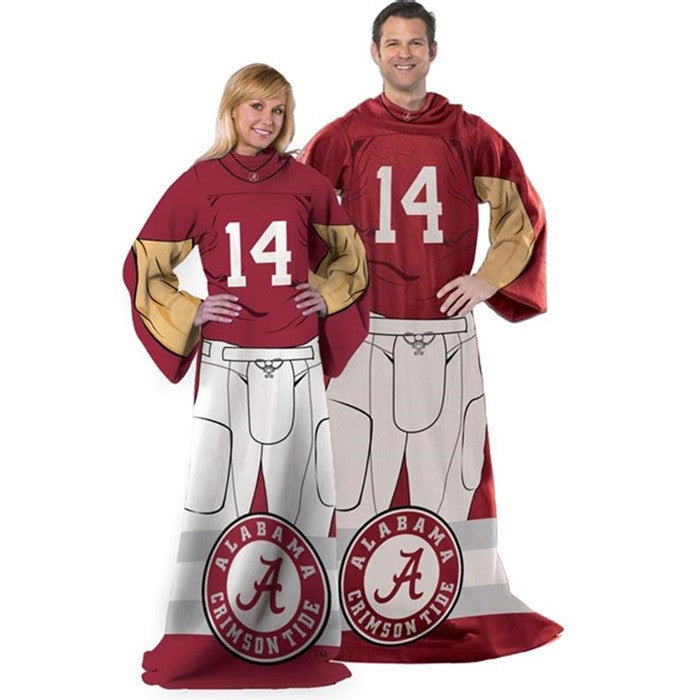 Alabama Crimson Tide Unisex Adult Comfy Throw - SportsFansPlus.com