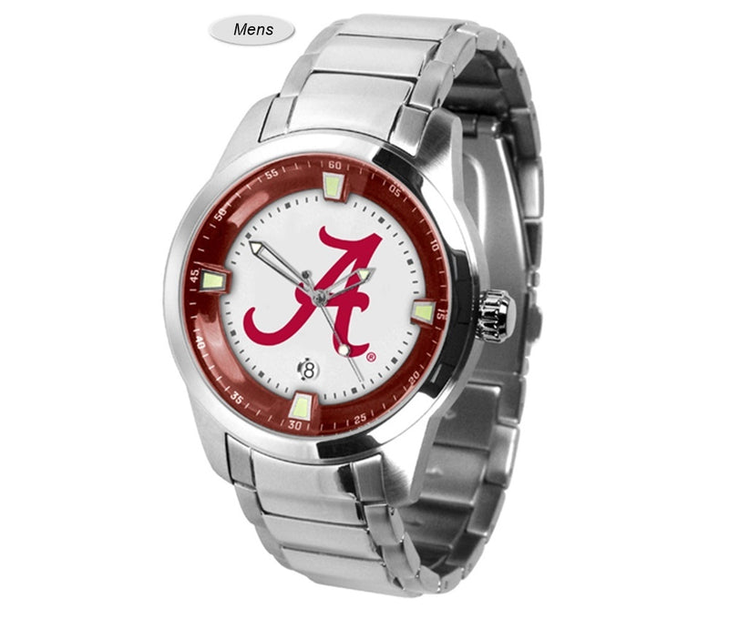 Alabama Crimson Tide Titan Steel Watch