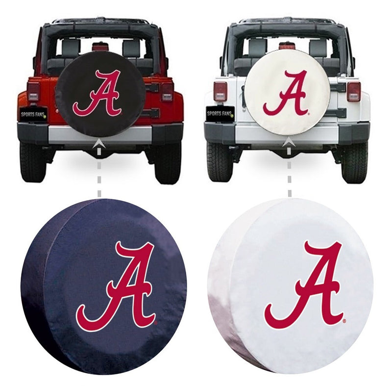 Alabama Crimson Tide A Spare Tire Cover