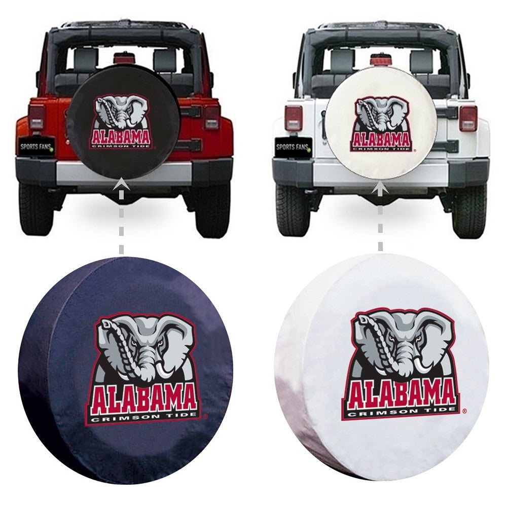 Alabama Crimson Tide Elephant Spare Tire Cover
