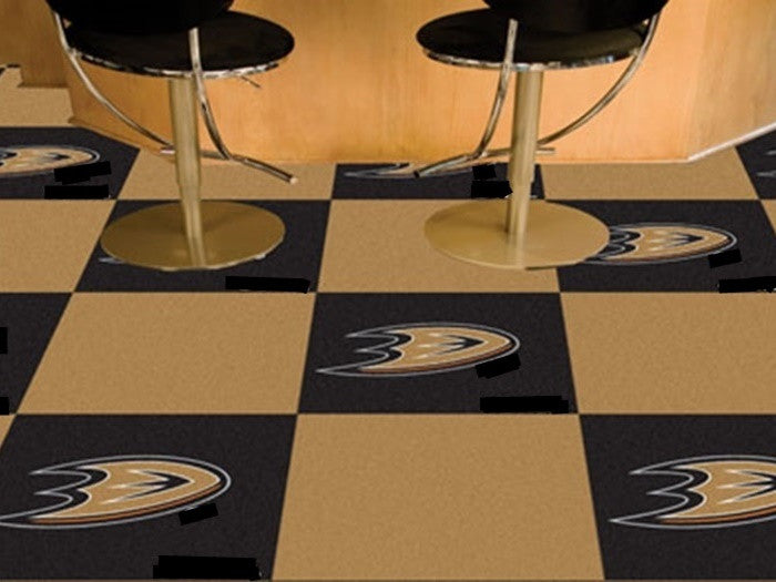 Anaheim Ducks NHL Carpet Tiles - SportsFansPlus.com