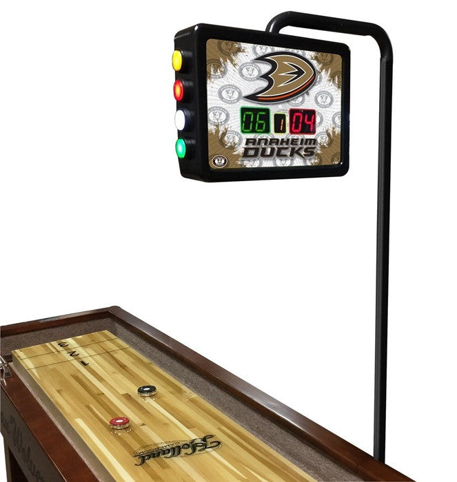 Anaheim Ducks NHL Shuffleboard Table Scoring Unit