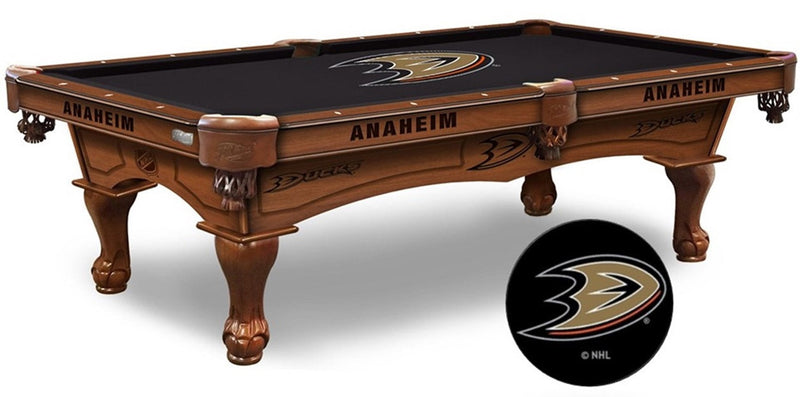 Anaheim Ducks NHL Pool Table (enlarged)