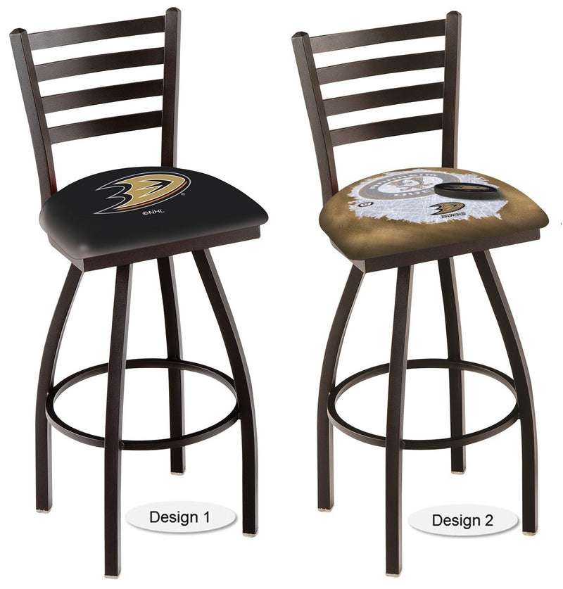 Anaheim Ducks NHL Ladder Back Bar Stool