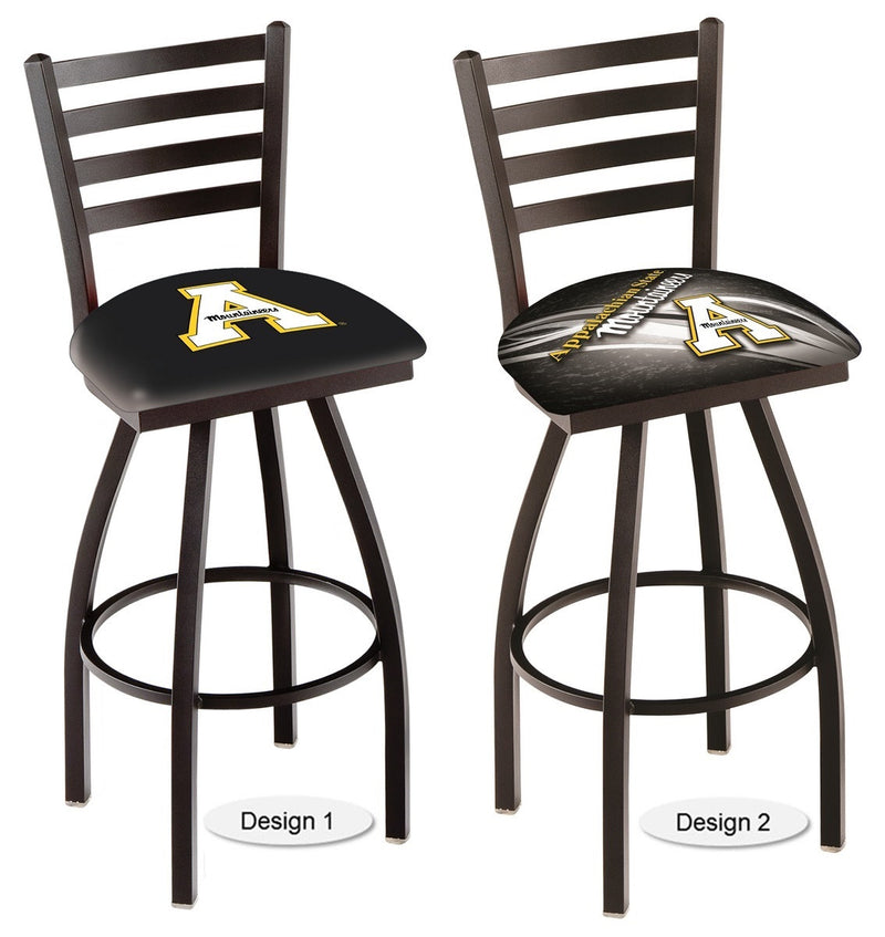 Appalachian State Mountaineers Ladder Back Bar Stool