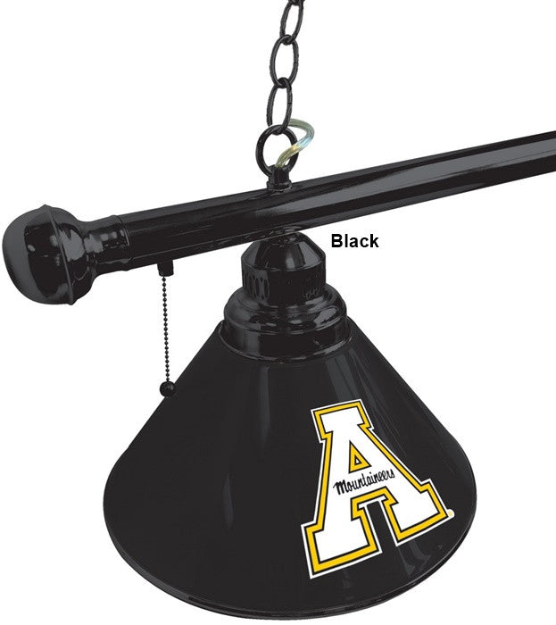 Appalachian State Mountaineers 3-Shade Billiard Light - SportsFansPlus.com