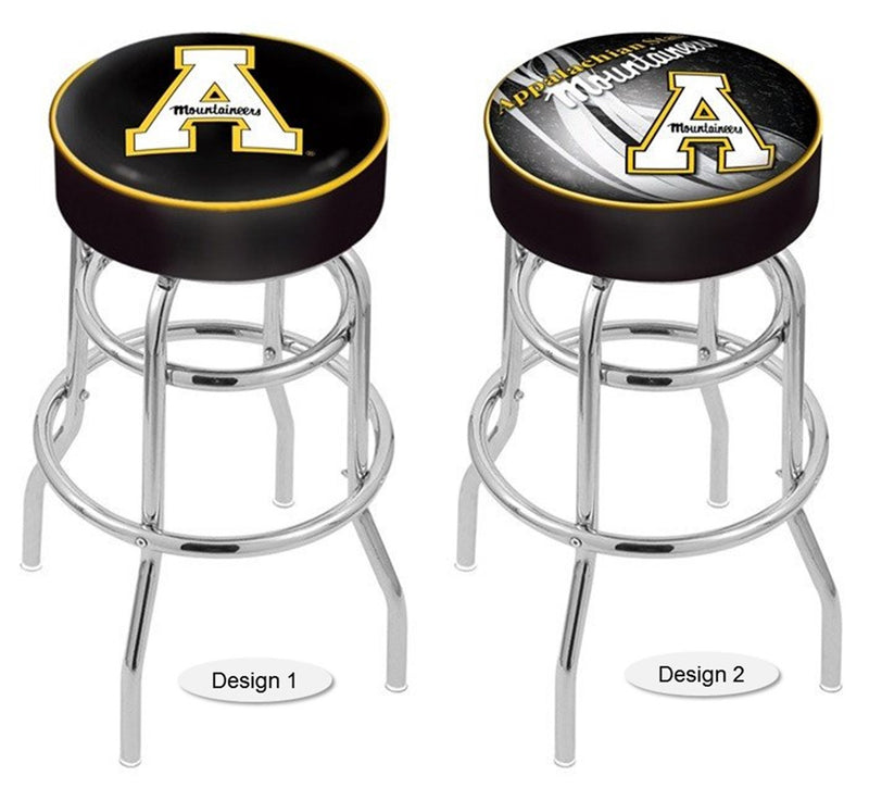 Appalachian State Mountaineers Retro Chrome Bar Stool