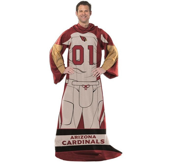 Arizona Cardinals NFL Unisex Adult Comfy Throw - Sports Fans Plus