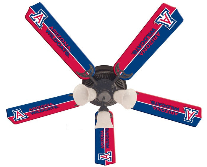 Arizona Wildcats 52-Inch Ceiling Fan Kit - Sports Fans Plus