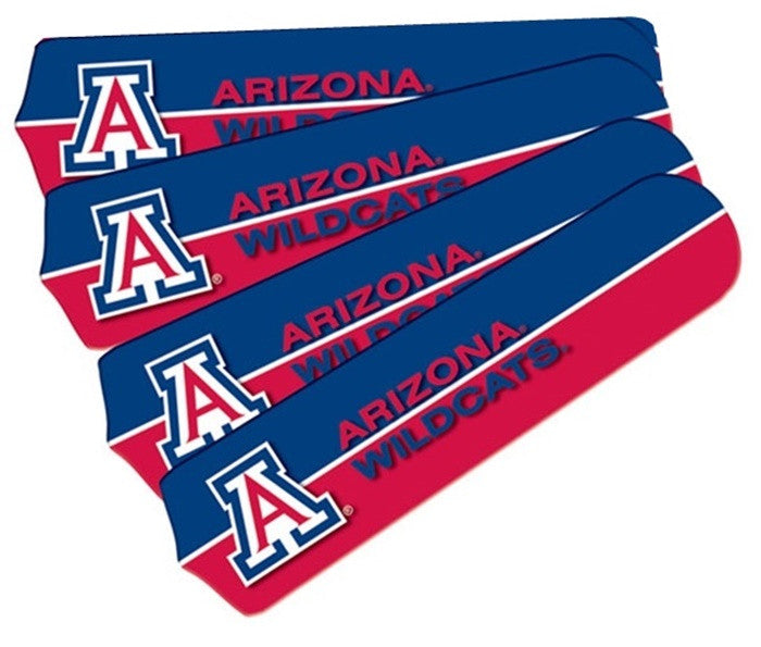 Arizona Wildcats 42-Inch Ceiling Fan Blade Set - Sports Fans Plus