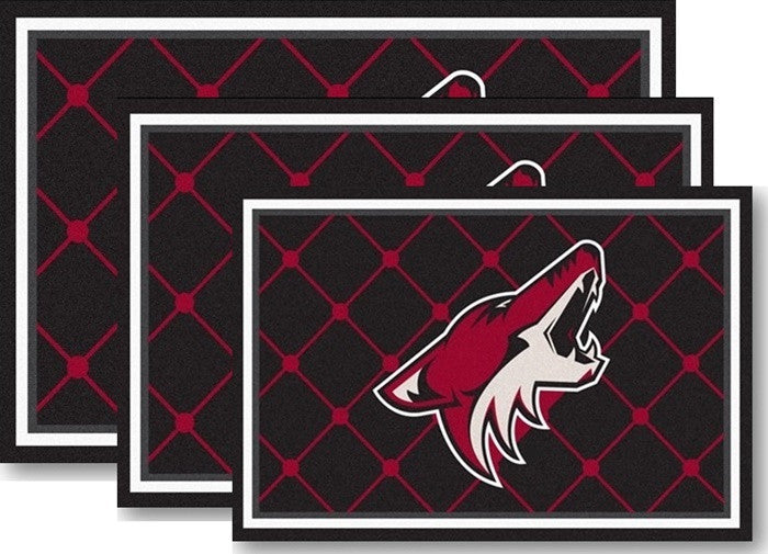 Arizona Coyotes NHL Area Rugs - Sports Fans Plus