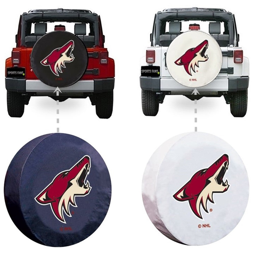 Arizona Coyotes NHL Spare Tire Cover