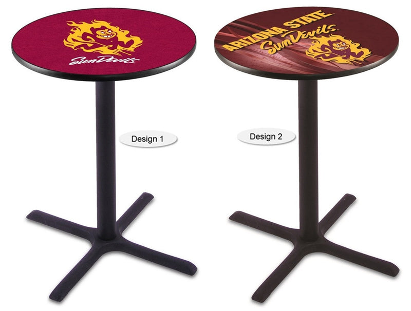 Arizona State Sun Devils Sparky Black X-Base Pub Table